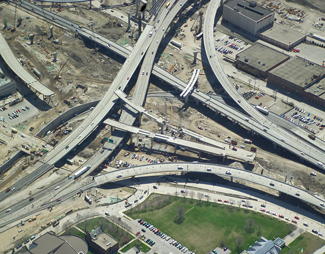 Marquette Interchange - Milwaukee, WI